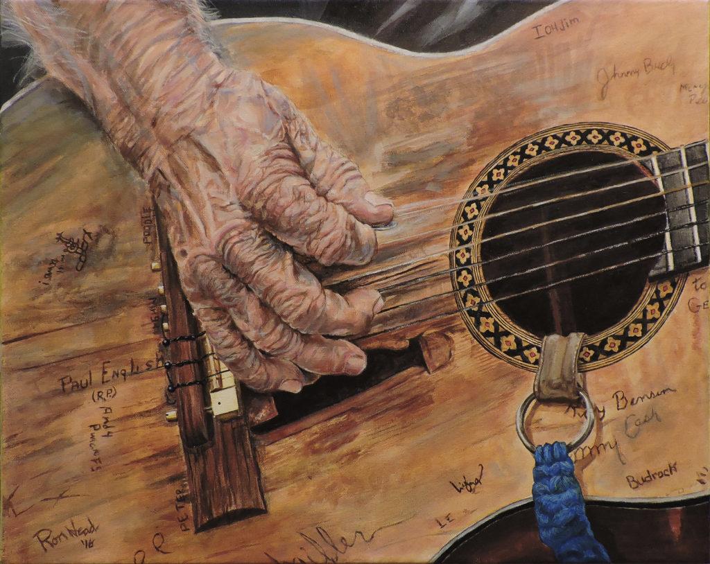 Willie's Martin 16x20 canvas